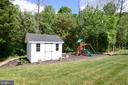 Tool shed and Playset - 24890 DAHLIA MANOR PL, ALDIE