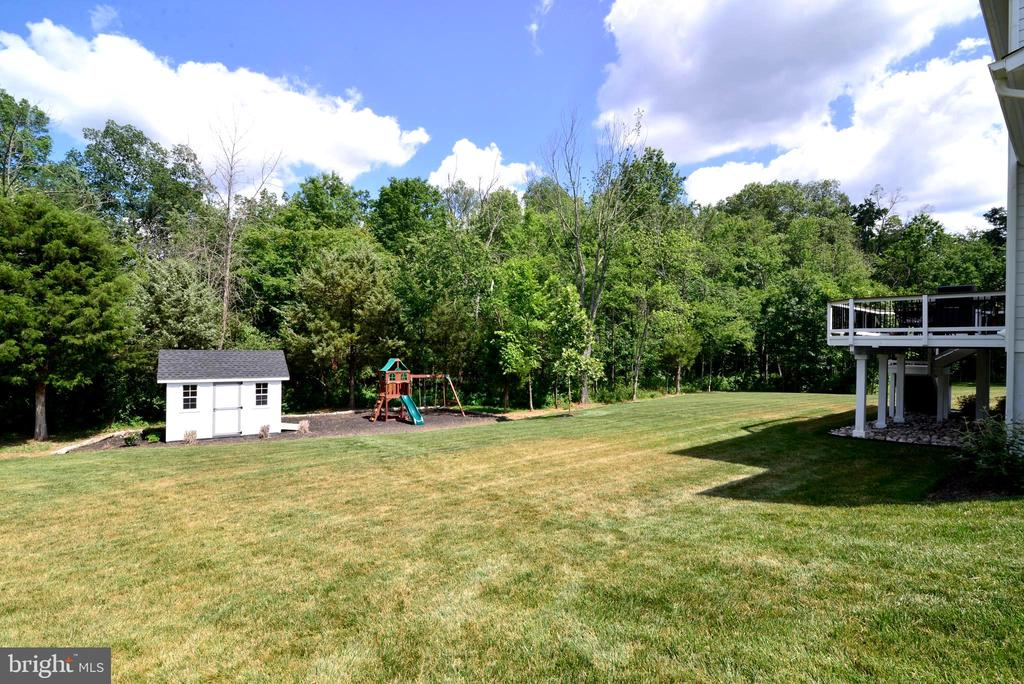 Huge back yard - 24890 DAHLIA MANOR PL, ALDIE
