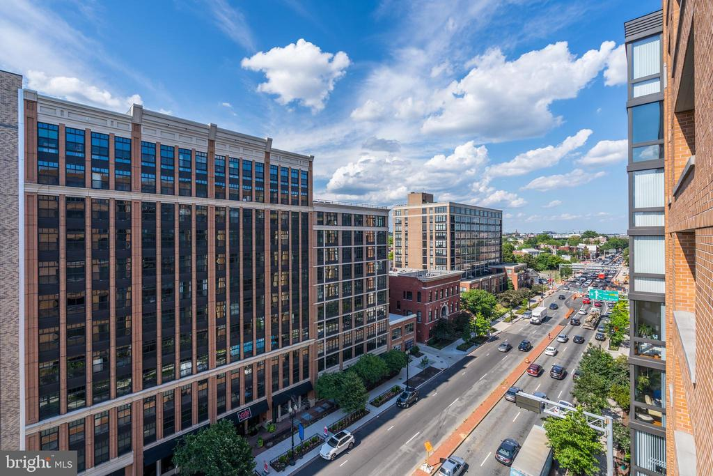 East views from patio! - 460 NEW YORK AVE NW #801, WASHINGTON