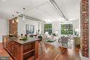 Open Main Living Area - 1600 CLARENDON BLVD #W107, ARLINGTON