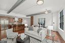 Living Area - 1600 CLARENDON BLVD #W107, ARLINGTON