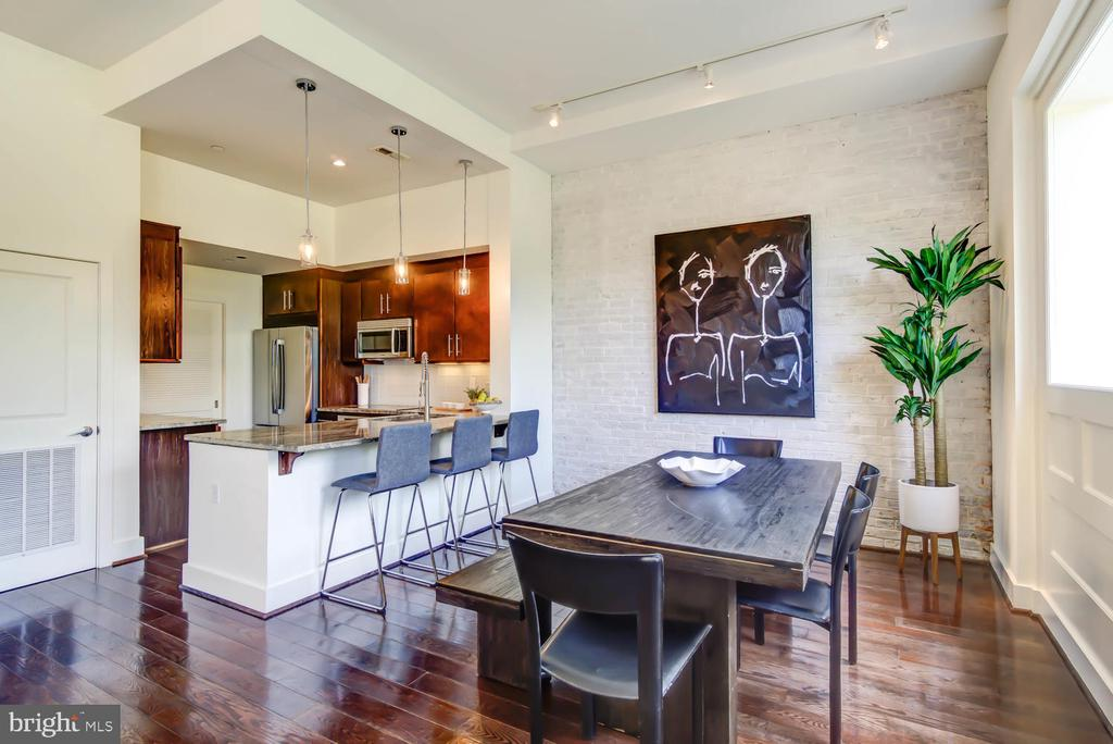 Think dinner parties - you'll have them again! - 1341 MARYLAND AVE NE #103, WASHINGTON