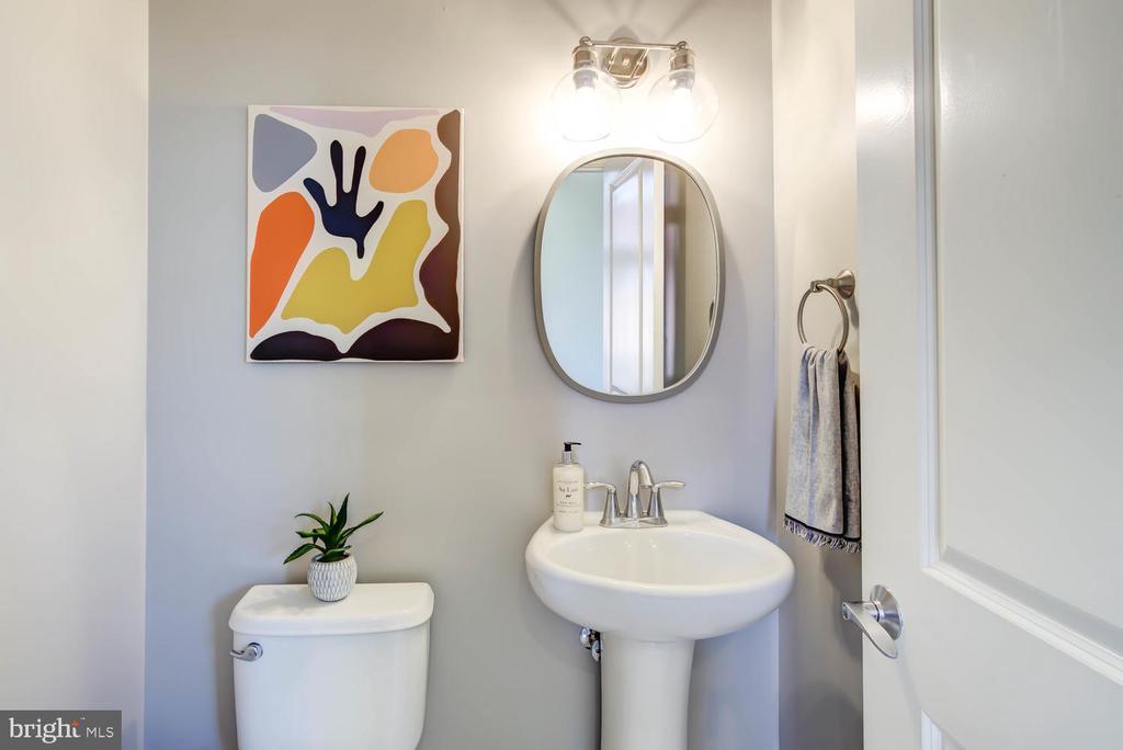 First floor half bath - 1341 MARYLAND AVE NE #103, WASHINGTON