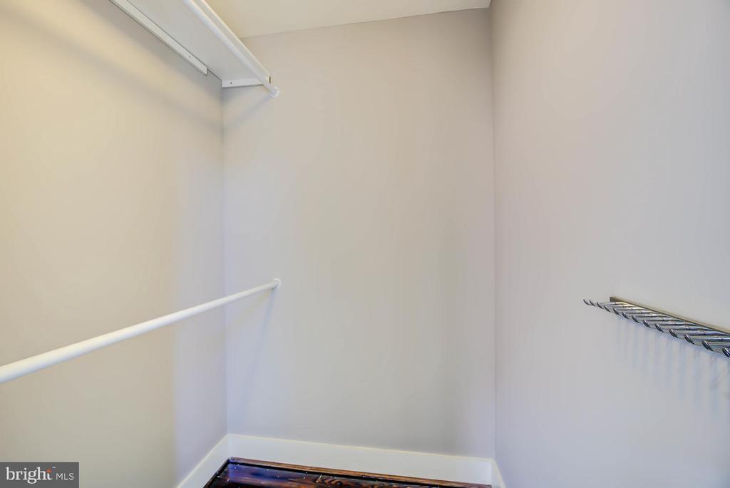 Walk-in closet - 1341 MARYLAND AVE NE #103, WASHINGTON