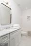 Upper Level Hall Bath - 24 CHANNING ST NW, WASHINGTON