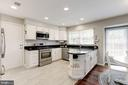 Updated Kitchen with Stainless Steel Appliances - 43451 ELMHURST CT, ASHBURN