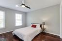Bedroom #2 with Ceiling Fan - 43451 ELMHURST CT, ASHBURN