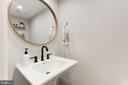 Updated Powder Room - 43451 ELMHURST CT, ASHBURN