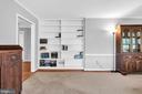 23874 Aldie Dam - Living Room w/ HWFs, Built-Ins - 23880 ALDIE DAM RD, ALDIE
