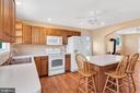 23880 -Living Rm w/ Wood Stove, HWFs, Ceiling Fan - 23880 ALDIE DAM RD, ALDIE