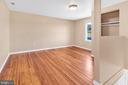 23880 Aldie Dam - Bedroom 2 w/ HWFs, Rear Stairs - 23880 ALDIE DAM RD, ALDIE