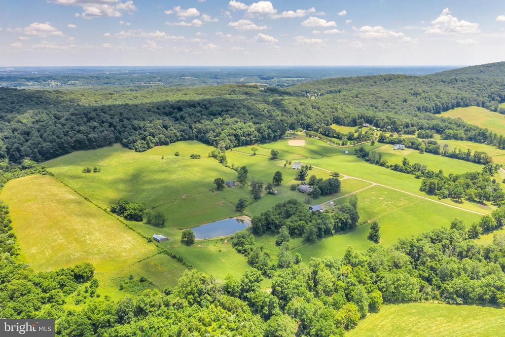 Aerial View of All 65 Acres - 23880 ALDIE DAM RD, ALDIE