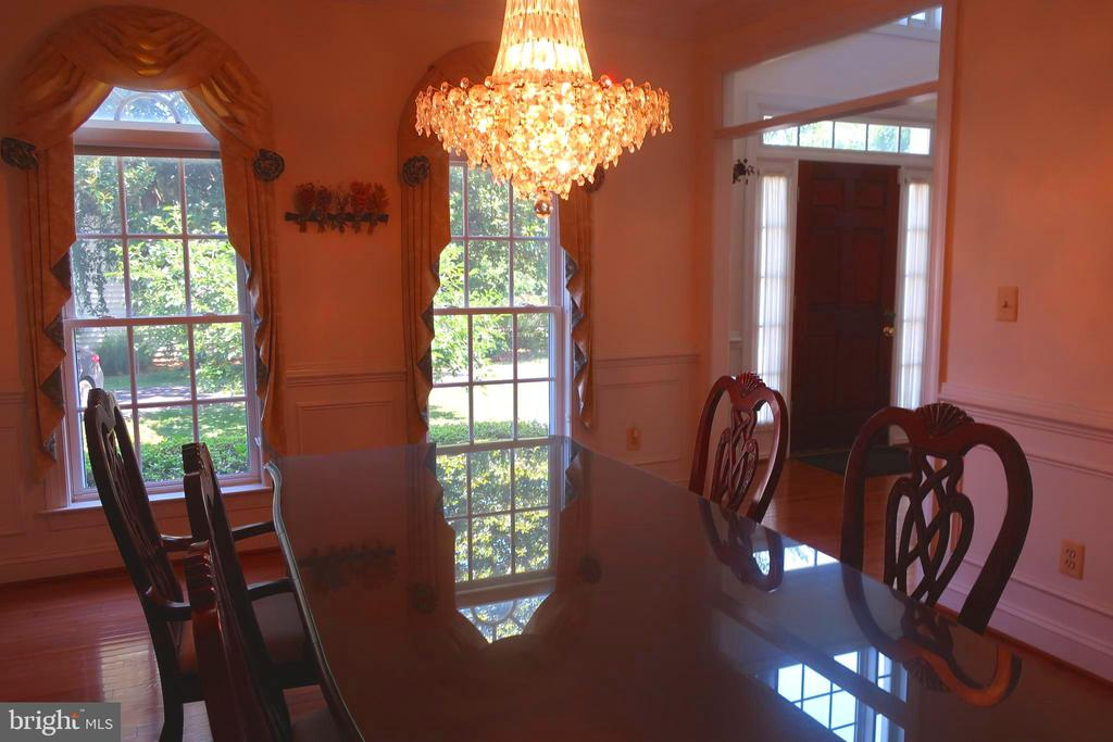 Dining Room - 4512 CARRICO DR, ANNANDALE