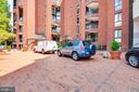 Turnabout in front of building. - 1099 22ND ST NW #304, WASHINGTON