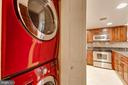 Stackable front loading W/D - 1099 22ND ST NW #304, WASHINGTON