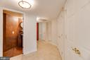 Powder Room by Front Entryway - 1099 22ND ST NW #304, WASHINGTON