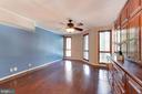 Master bedroom fits a King size bed easily - 1099 22ND ST NW #304, WASHINGTON