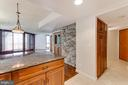 Pantry in kitchen just by front door. Wine fridge! - 1099 22ND ST NW #304, WASHINGTON