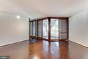 Living room leading to outdoor space - 1099 22ND ST NW #304, WASHINGTON