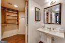 Master closet conveniently next to Bath - 1099 22ND ST NW #304, WASHINGTON