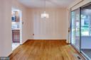 Floorplan flows naturally outdoors - 6100 THOMAS DR, SPRINGFIELD