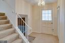 Foyer (hardwood floors under carpet) - 6100 THOMAS DR, SPRINGFIELD
