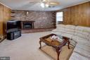 Spacious Rec Room in Lower Level - 6100 THOMAS DR, SPRINGFIELD