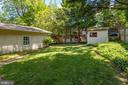 Wonderful, lush & wooded backyard - 6100 THOMAS DR, SPRINGFIELD