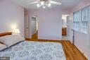 Owner's bedroom with large walk-in closet - 6100 THOMAS DR, SPRINGFIELD