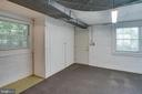 Extra-large laundry/storage room with cabinets - 6100 THOMAS DR, SPRINGFIELD
