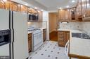 Recessed lighting and recently painted cabinets - 6100 THOMAS DR, SPRINGFIELD