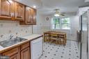 Tons of natural light in kitchen - 6100 THOMAS DR, SPRINGFIELD