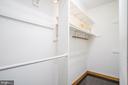 Master Walk In Closet - 22669 WATSON RD, LEESBURG