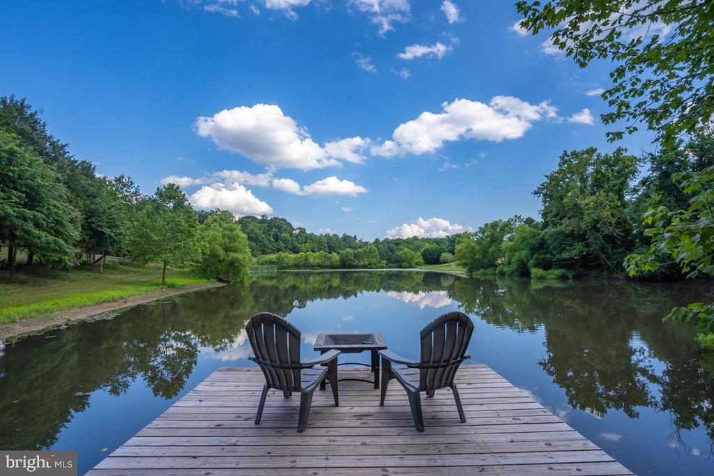 2 Acre  Stocked Pond - 22669 WATSON RD, LEESBURG