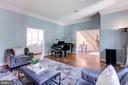 Living Room - 11329 HENDERSON RD, FAIRFAX STATION