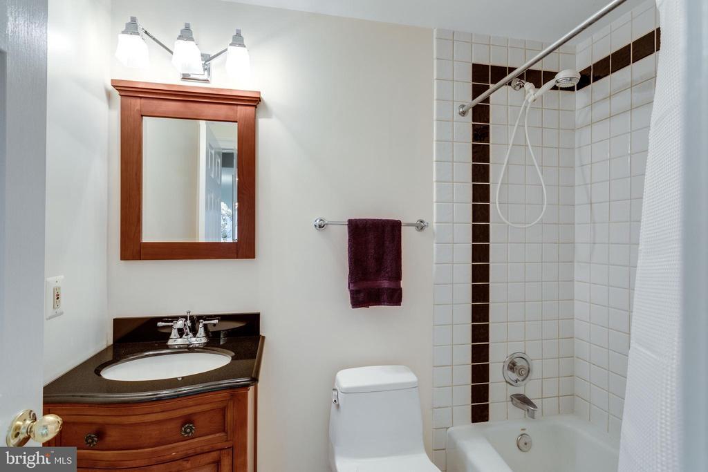 Lower Level Bathroom - 11329 HENDERSON RD, FAIRFAX STATION