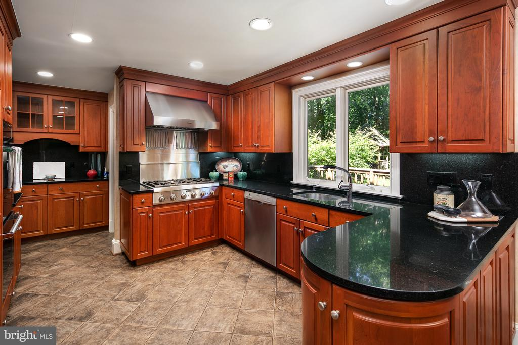 Granite Counters & Stainless Steel Appliances - 10616 CANTERBERRY RD, FAIRFAX STATION