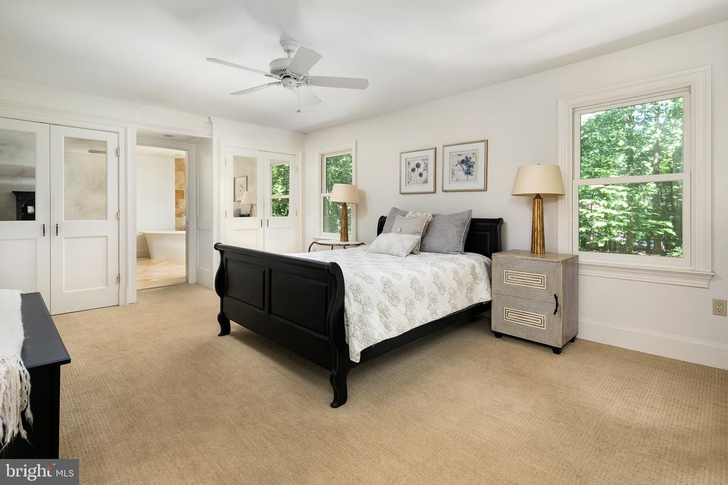 Master Suite BR w/Built-in & Walk-in Closets! - 10616 CANTERBERRY RD, FAIRFAX STATION