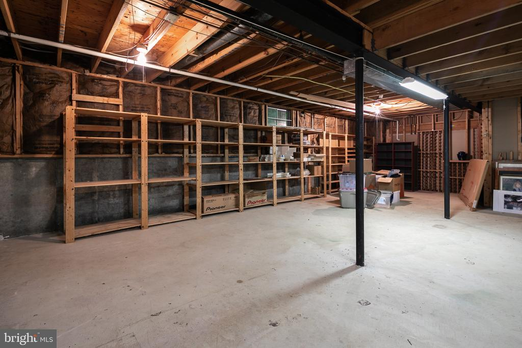 Storage/Utility Room - on its own level - 10616 CANTERBERRY RD, FAIRFAX STATION