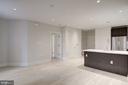 Spacious, open floor plan - 1745 N ST NW #312, WASHINGTON