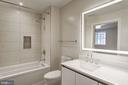 Luxury bath - 1745 N ST NW #312, WASHINGTON