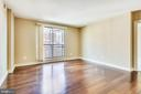 Great room with fresh paint - 2050 JAMIESON AVE #1302, ALEXANDRIA