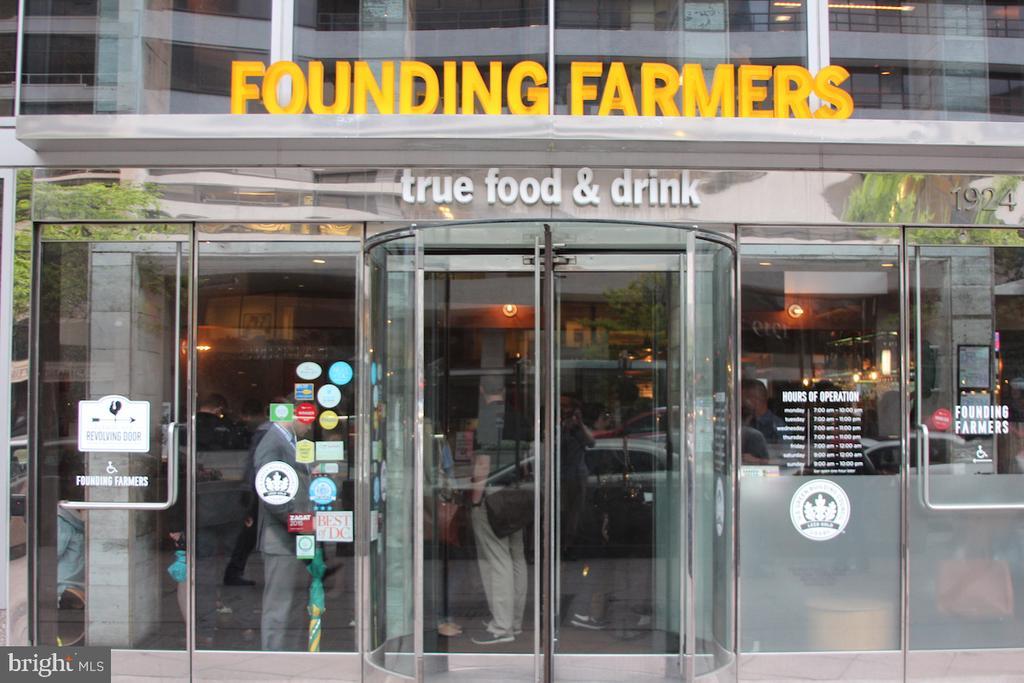 Founding Farmers - local restaurant - 1099 22ND ST NW #304, WASHINGTON