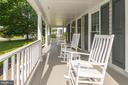 Expansive covered porch in the front - 7 CRISSWELL CT, STERLING