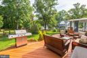 Well-crafted deck with in and outdoor seating area - 7 CRISSWELL CT, STERLING