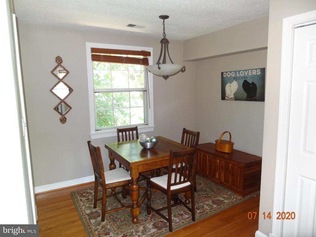 Dining Room with Wood Floor - 2411 ARLINGTON BLVD #201, ARLINGTON