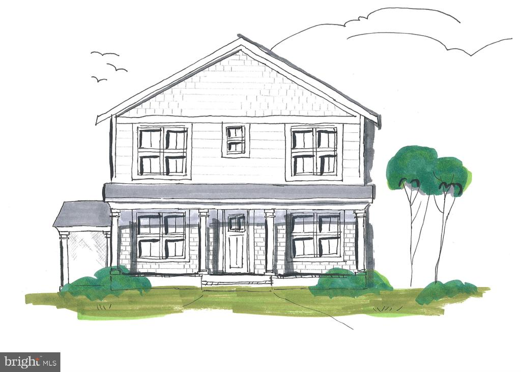 Custom Home: 6 beds, 5 baths, front & side porch - 804 MOUNT VERNON AVE, ALEXANDRIA