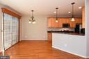 Kitchen/Dining  Area-2 - 11872 BENTON LAKE RD, BRISTOW