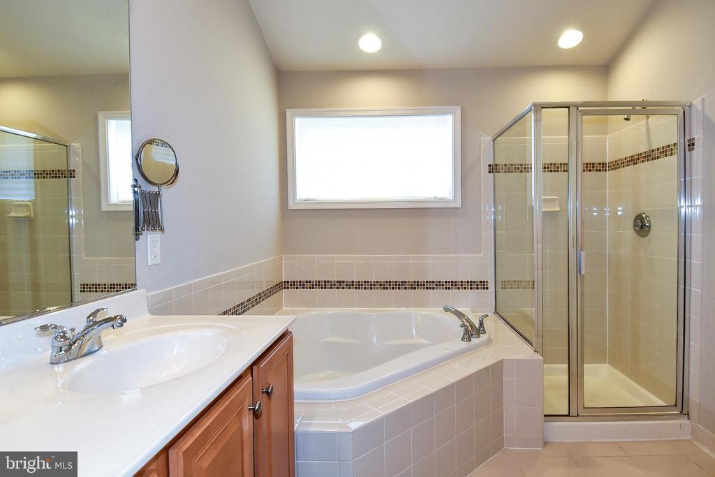 Primary Luxury Bath View 3 - 11872 BENTON LAKE RD, BRISTOW