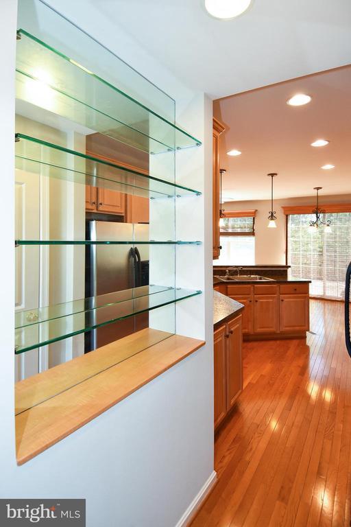 Kitchen View - 11872 BENTON LAKE RD, BRISTOW